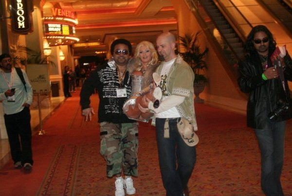 Vegas carrying Brittany