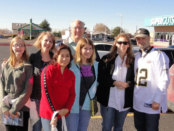 With a few cousins in New Mexico