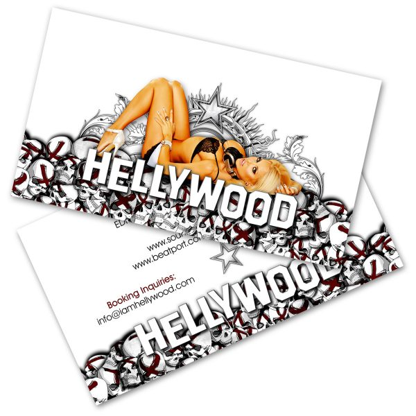 Hellywood Business Cards