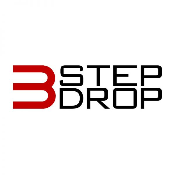 3 Step Drop Logo by Michael