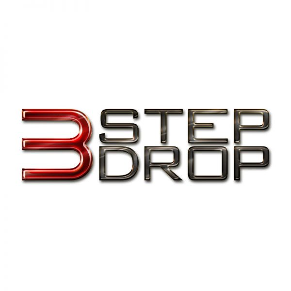 3 Step Drop Logo