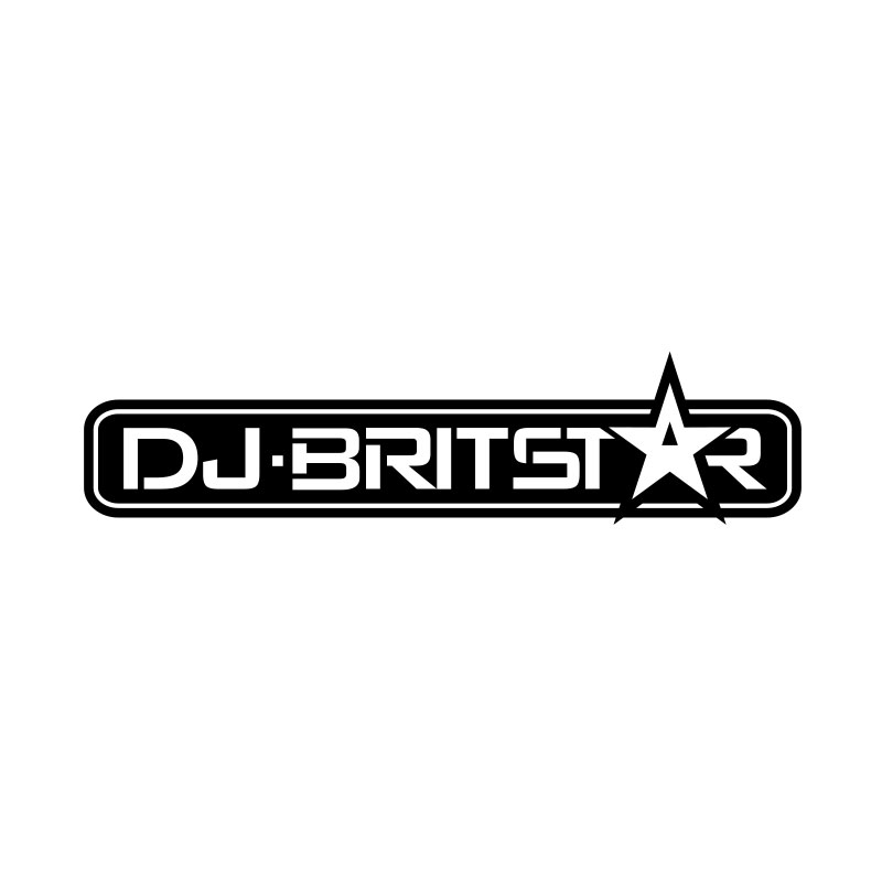 DJ Britstar Logo by Michael