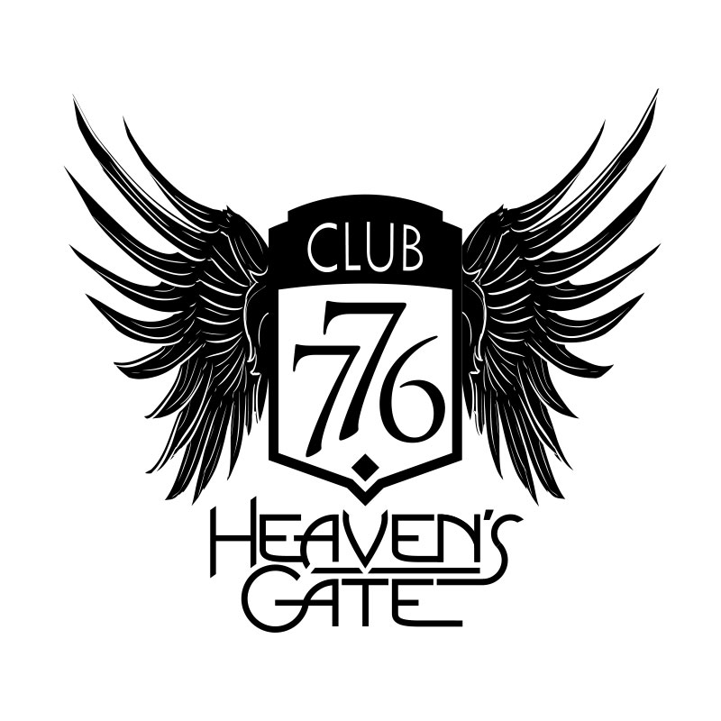 Heaven's Gate With Crest Logo by Michael