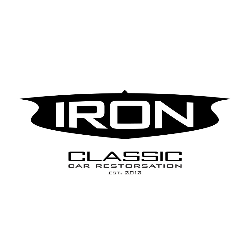 Iron Classic Car Restoration Logo by Michael