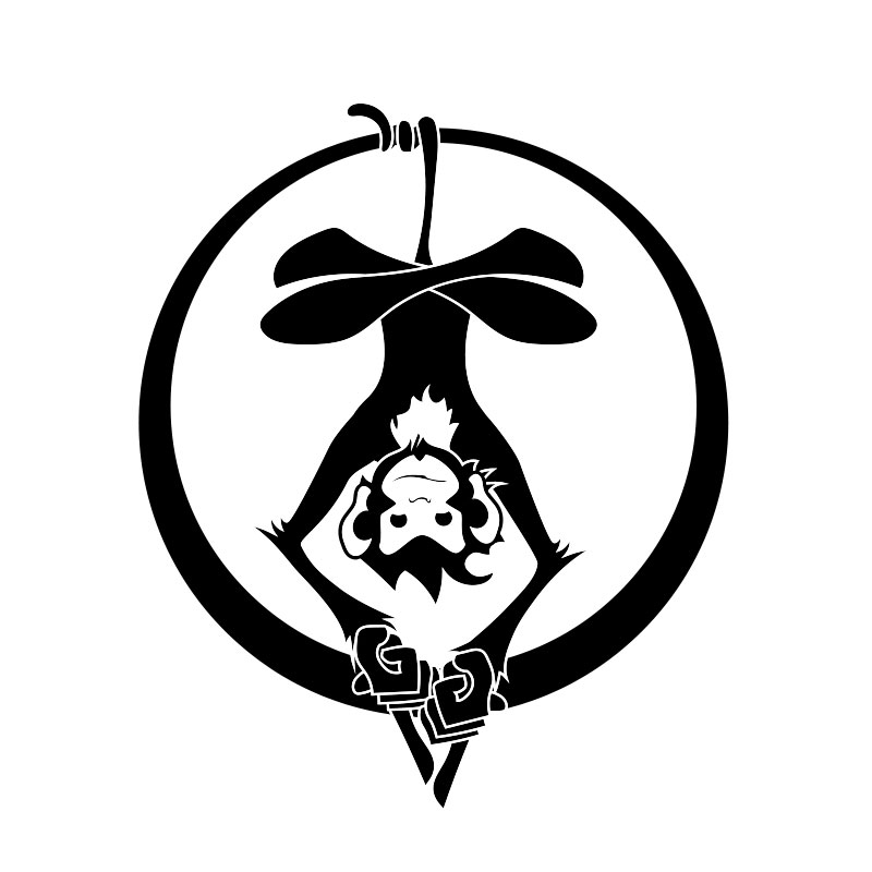 Zen Monkey Logo by Michael